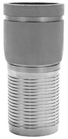 1 1/4 Inch (in) Size 316 Stainless Steel Grooved Crimp Combination Nipple