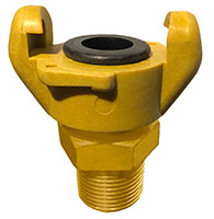 1 Inch (in) Size Ny-Glass Male NPT Hose Ends Crowfoot Coupling