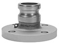 3 Inch (in) Size Aluminum Type FA ANSI Class 150 Flanged Specialty Adapter Fitting
