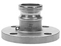 3 Inch (in) Size 316 Stainless Steel Type FA ANSI Class 150 Flanged Specialty Adapter Fitting