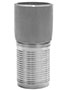 3 Inch (in) Size 316 Stainless Steel Weld Bevel Crimp Combination Nipple