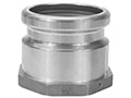 4 x 4 Inch (in) Aluminum Top Seal Dual Point Fill Adapter Fittings (944TCA)