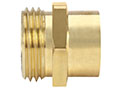 Garden Hose Fittings - Male GHT x Female Pipe (18A-12E)