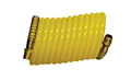 50 Feet (ft) Length 3/8 Inch (in) Swivel and Rigid NPT Thread Size Nylon Yellow Color Recoil Hose Pneumatic Accessory