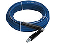 3/8 in. x 50 ft Size Blue Coupled Power Wash Quick Connect Hose - 2