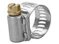7/16 x 25/32 Inch (in) Size 9/16 Inch (in) Band Width Aero-Seal Industrial Hose Clamp with Carbon Steel Screw