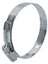 1/2 Inch (in) Band Width 2 5/16 x 3 1/4 Inch (in) Size Carbon Steel General Purpose Industrial Hose Clamp