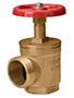 1 1/2 Inch (in) FNPT X 1 1/2 Inch (in) MNST Connection Brass Female x Male Angle Hose Valve