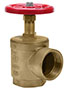 2 1/2 Inch (in) FNPT x 2 1/2 Inch (in) FNPT Connection Brass Female x Female Angle Hose Valve