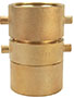 2 1/2 x 3  Inch (in) Size Brass Double Jacket Pin Lug