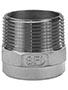 1 Inch (in) Size 304 Stainless Steel Hexagonal Welding Nipple Fitting