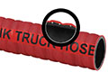 2 Inch (in) Inner Diameter and 150 PSI Pressure Red Nitrile Blend/Nitrile Tank Truck Corrugated Petroleum Hose