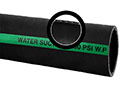 2 Inch (in) Inner Diameter Black SBR/Natural Rubber Blended Water Suction Hose