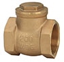 1 Inch (in) Size Brass Swing Check Valve