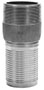 3 Inch (in) Size 316 Stainless Steel NPT Threaded Crimp Combination Nipple